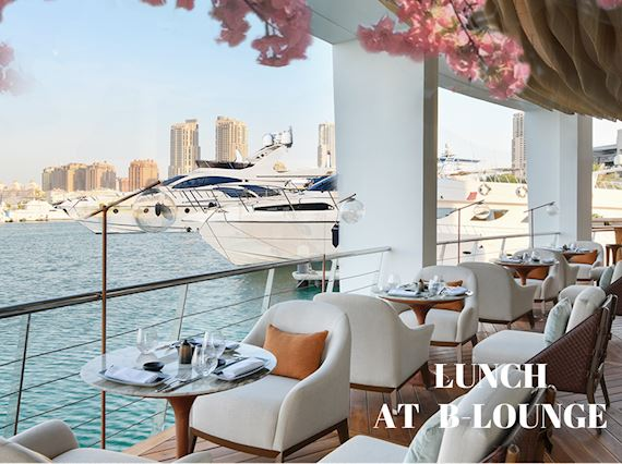 Lunch At B-Lounge